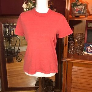 Madewell Coral T Shirt S